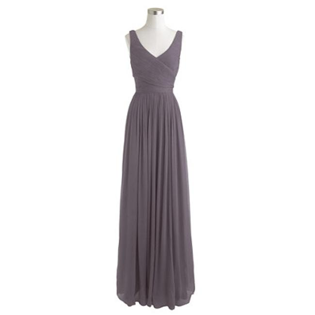 Item - Smokey Charcoal Chiffon Heidi Vintage Bridesmaid/Mob Dress Size 0 (XS)