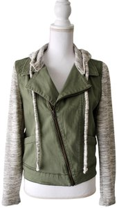Love, Fire Hoodie Casual Military Jacket