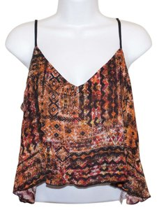 Papaya Crop Crop Flowly Loose Fitting Loose Adjustable Adjustable Straps Cute Adorable Affordable Forever 21 H&m Natural Chic Top