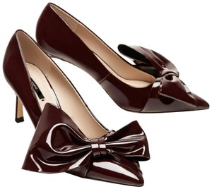 Zara burgundy Pumps