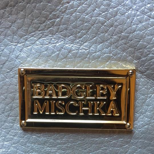 Badgley Mischka Tote in Silver/gold Image 1