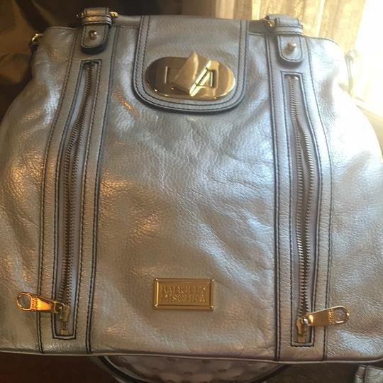 Badgley Mischka Tote in Silver/gold Image 2