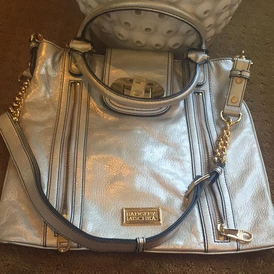 Badgley Mischka Tote in Silver/gold Image 4