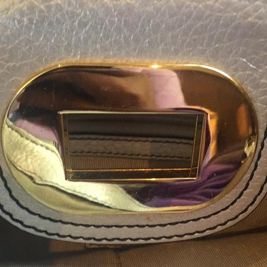 Badgley Mischka Tote in Silver/gold Image 6