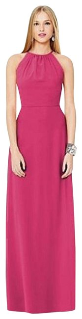 Item - Pink 8151 Long Night Out Dress Size 22 (Plus 2x)