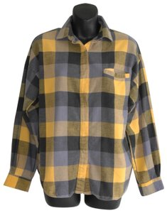 Diane von Furstenberg Button Down Shirt yellow