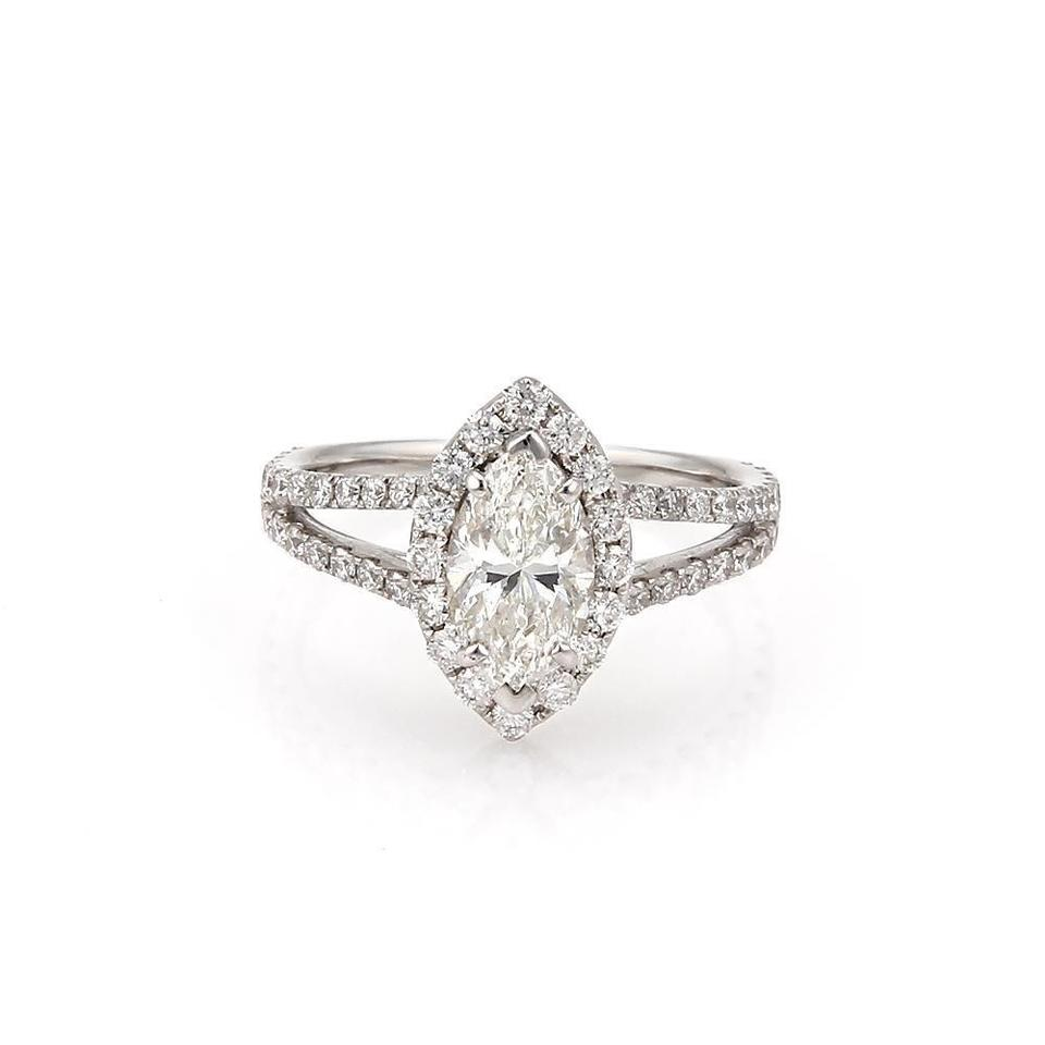 profile trellis round diamond yellow setting in solitaire ring rings engagement gold low