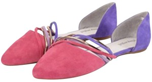 Jeffrey Campbell Pink, Purple, Gold Flats