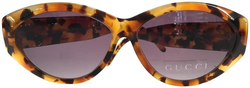 231a43697a Gucci Gucci Vintage Tortoise Cat-Eye Sunglasses GG 2195 S D19 Image 0 ...