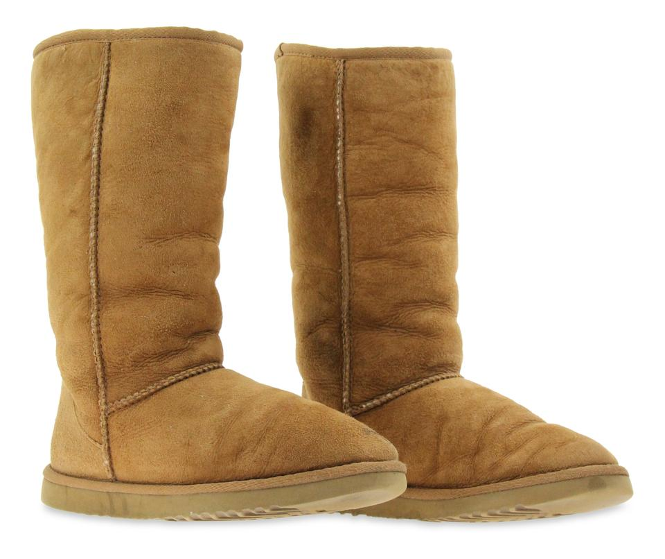 0576a45b0c9 UGG Australia Brown Chestnut Classic Tall Boots/Booties Size US 7 Wide (C,  D) 74% off retail