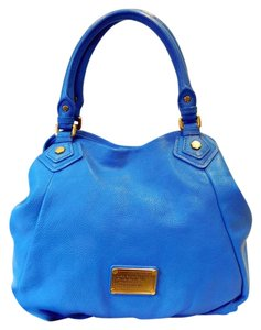 Marc by Marc Jacobs Classic Q Fran Medium Lush Leather Detachable Strap Shoulder Bag