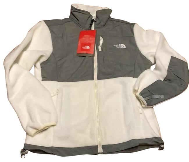 Item - White/Grey Denali Jacket Size 6 (S)