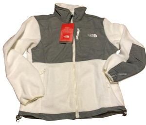 The North Face White/grey Jacket