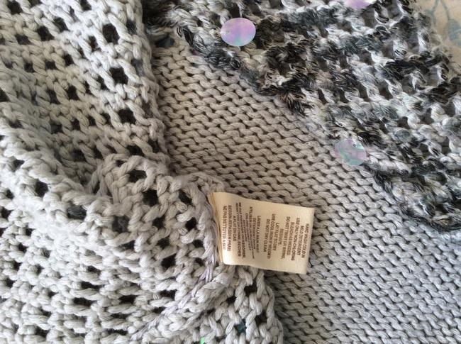 Free People Knitted Grey/White Tunic Image 10