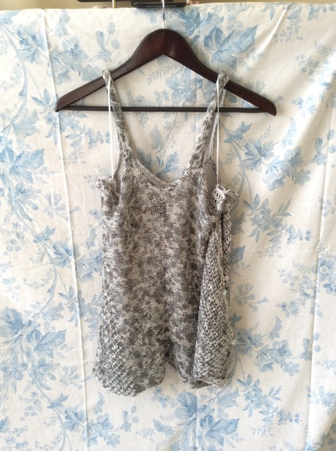 Free People Knitted Grey/White Tunic Image 2