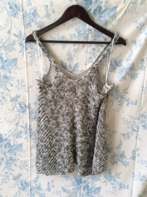 Free People Knitted Grey/White Tunic Image 3