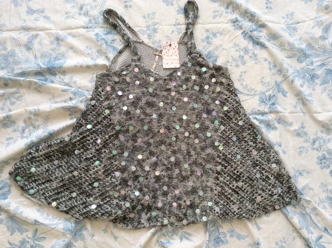 Free People Knitted Grey/White Tunic Image 7