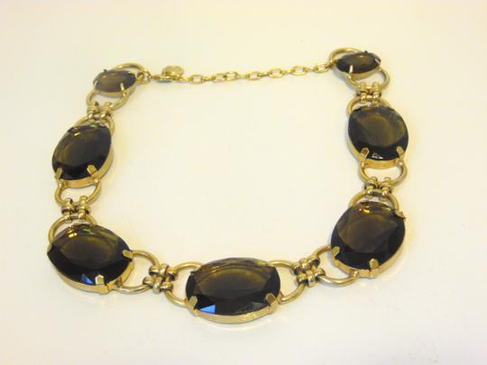 R.J. Graziano R. J. Graziano Smokey Quartz Color Crystal Statement Necklace Image 10