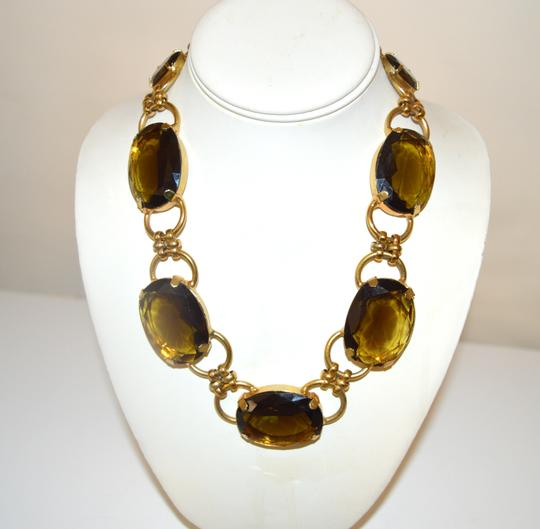 R.J. Graziano R. J. Graziano Smokey Quartz Color Crystal Statement Necklace Image 3