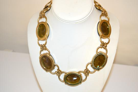 R.J. Graziano R. J. Graziano Smokey Quartz Color Crystal Statement Necklace Image 5