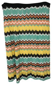Andrea Jovine Knit Skirt Multicolor