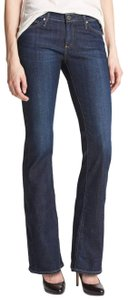 AG Adriano Goldschmied Anthropologie Boot Cut Jeans-Dark Rinse