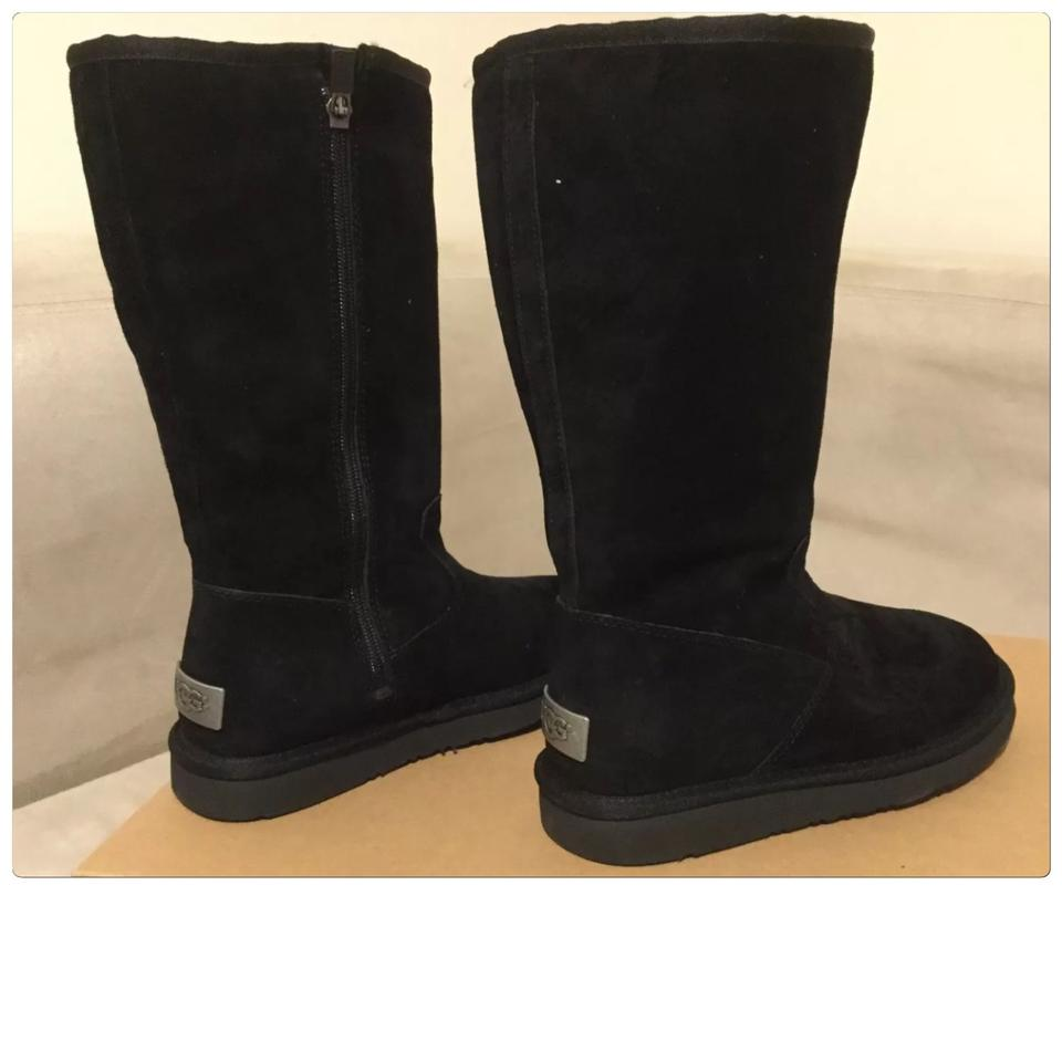 9118065ee30 UGG Australia Black Zipper Alber Boots/Booties Size US 5 Regular (M, B) 36%  off retail