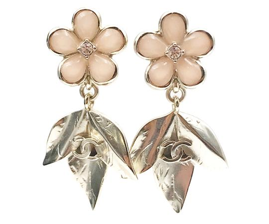 924b4730adb8 gold-pink-18-light-enamel-leaves-dangle-piercing-