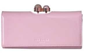 b04a6651f19085 Ted Baker KATTIA Crystal and pearl bobble leather matinee