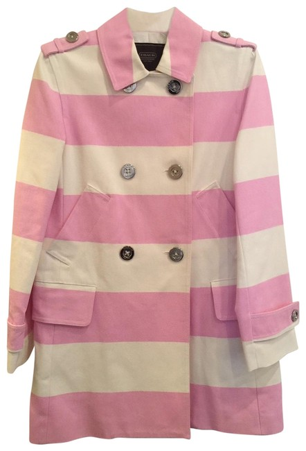 Item - Pink and White Vintage Collection Jacket Size 6 (S)