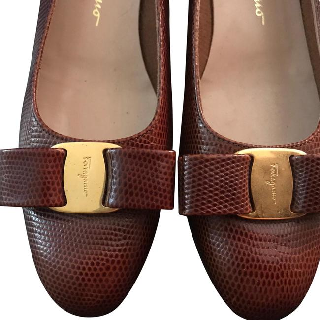 Item - Copper Brown Flats Size US 8 Narrow (Aa, N)