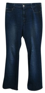 Express Flare Leg Jeans-Medium Wash