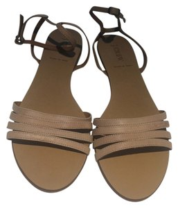 J.Crew Leather natural Sandals