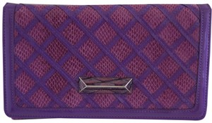 White House | Black Market lavender Clutch