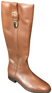 Coach Saddle Brown Boots
