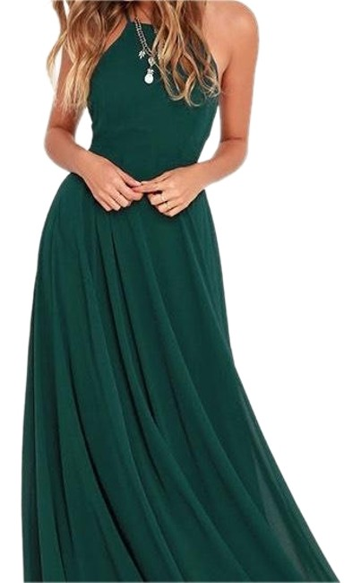 Item - Dark Green Mythical Kind Of Love Long Formal Dress Size 4 (S)