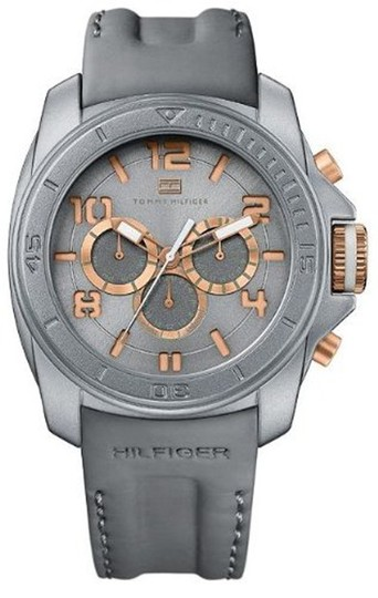 Tommy Hilfiger Tommy Hilfiger Male Dress Watch 1790794 Grey Analog