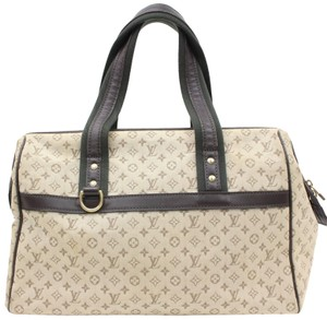 Louis Vuitton Speedy Alma Tompkin Square Marie Doctors Satchel in Light Brown
