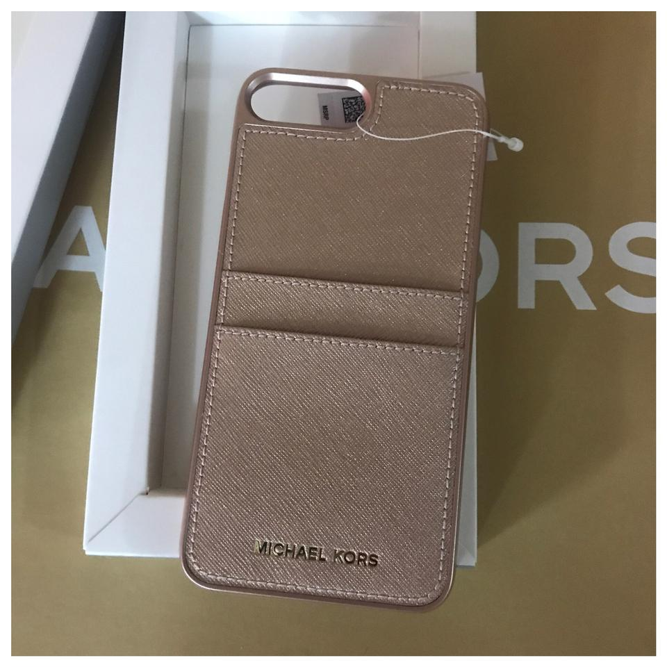 huge discount e70e6 5fab1 Michael Kors Mk Iphone 7 Plus Snap Case Cover - Ballet Tech Accessory 28%  off retail