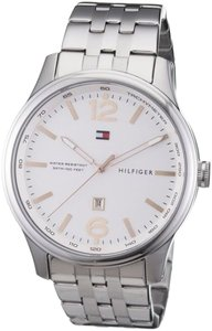 Tommy Hilfiger Tommy Hilfiger Male Casual Watch 1710313 Silver Analog