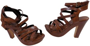 Lanvin Strappy Leather Sandals