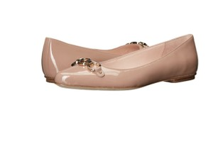 Kate Spade fawn beige patent Flats
