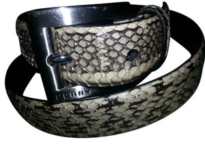 Perry Ellis Genuine Snakeskin belt