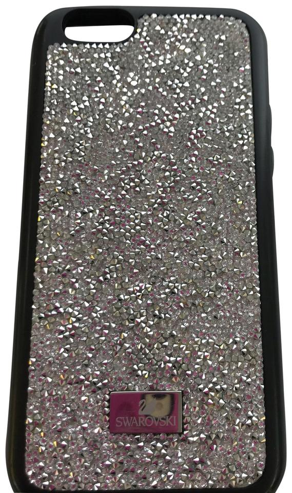 new product 0fabb 111f8 Swarovski Black/With Crystals Ladies Genuine Iphone 6s Case Tech Accessory