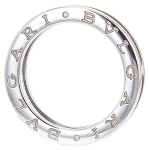 BVLGARI Bulgari B.Zero1 Band Ring in 18k White Gold with Box, Size 7