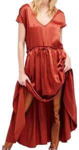 Copper Brown Maxi Dress by Free People