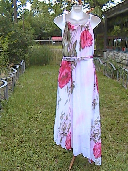 Other Chiffon Asymmetrical Maxi Dress