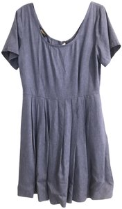 Kova&T short dress Denim on Tradesy