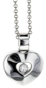 Chopard Happy Diamonds Floating Heart Pendant on 16