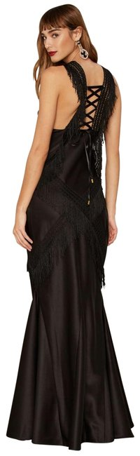 Item - Black Collection Question Of Obsession Maxi Long Night Out Dress Size 12 (L)